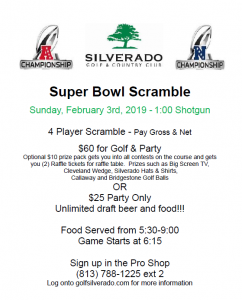 2019 super bowl flyer